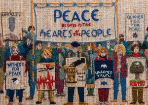 Vigils fo peace - Quaker Tapestry