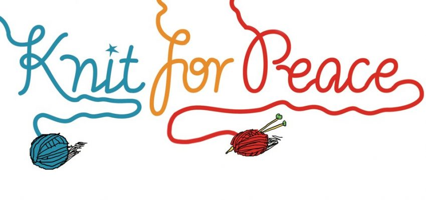 Knit for Peace logo