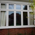 new double-glazed windows at Maidenhead Meeting House