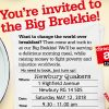 Big Brekkie for Christian Aid at Newbury Quakers