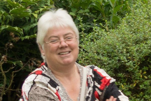 photo of Carolyn, Newbury clerk