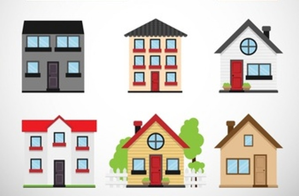 images of different types of house