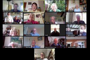 Screenshot of Newbury Zoom meeting